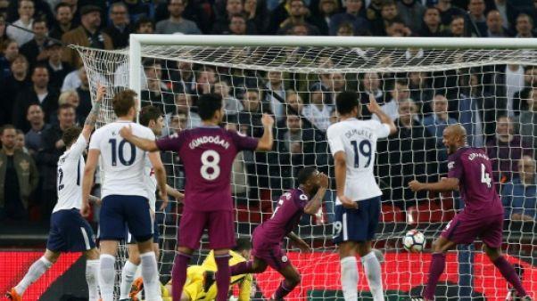 Angleterre: Manchester City se reprend face à Tottenham 3-1