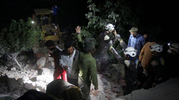 فرنسا تحذر من كارثة إنسانية في مدينة إدلب السورية