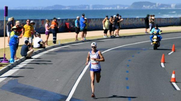 Jeux du Commonwealth: polémique après une chute dans le marathon