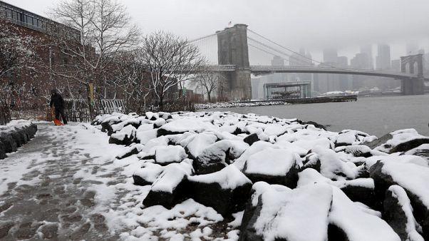 مزيد من الثلوج والأمطار والرياح تضرب أجزاء من الولايات المتحدة