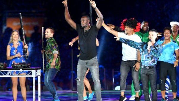 Apparition foudroyante de Bolt en clôture des Jeux du Commonwealth