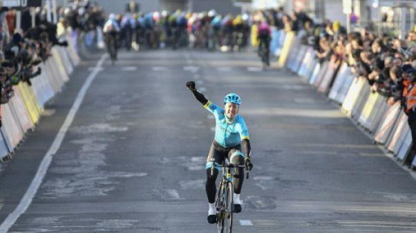 Cyclisme: le Danois Michael Valgren vainqueur de l'Amstel Gold Race