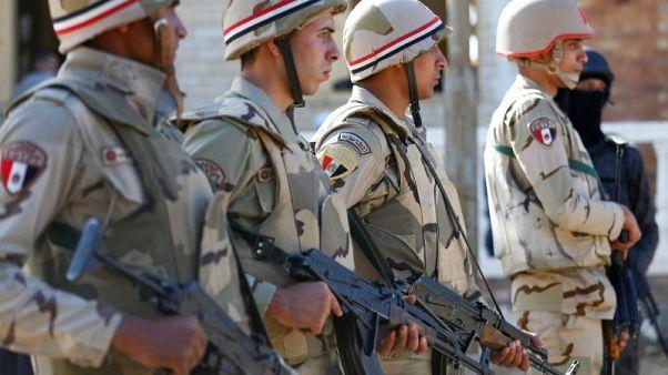 تنظيم الدولة الإسلامية يعلن مسؤوليته عن هجوم على الجيش المصري في سيناء