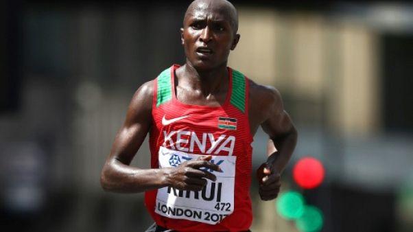 Marathon de Boston: Kirui peut perturber le rêve américain