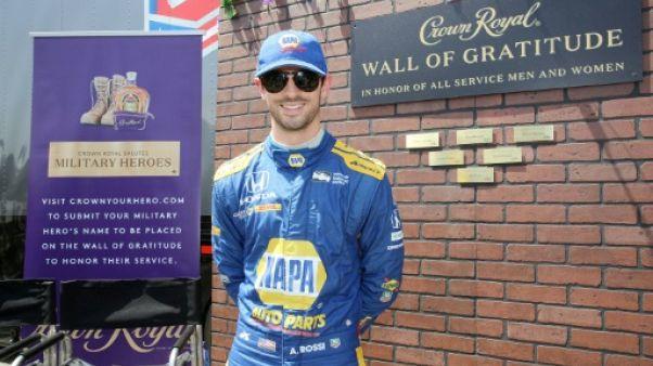 IndyCar: Rossi fait coup double au GP de Long Beach