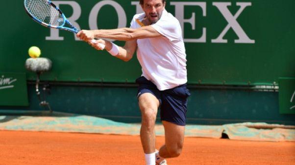 Tennis: Benneteau éliminé d'entrée par Coric à Monaco
