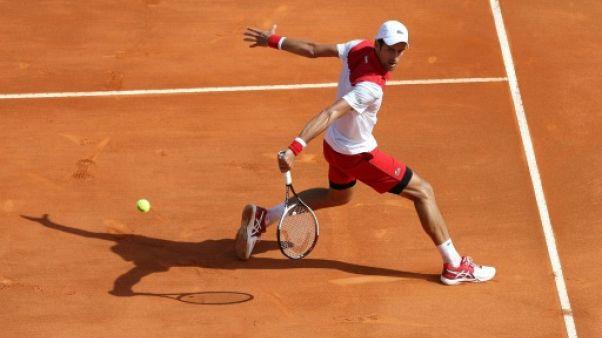 Tennis: à Monte-Carlo, Djokovic s'est promené face à Lajovic