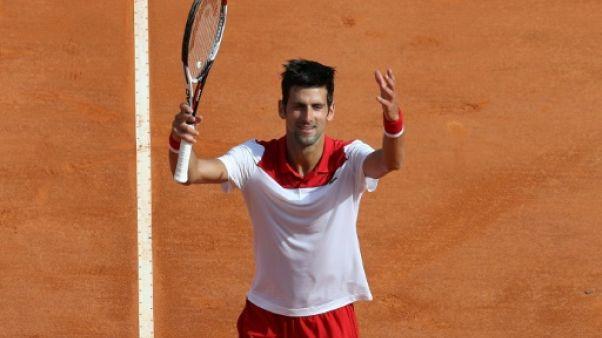 Tennis: Novak Djokovic sur la bonne voie à Monte-Carlo
