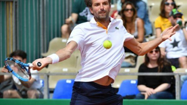 Tennis: Benneteau éliminé d'entrée pour son dernier Monte-Carlo