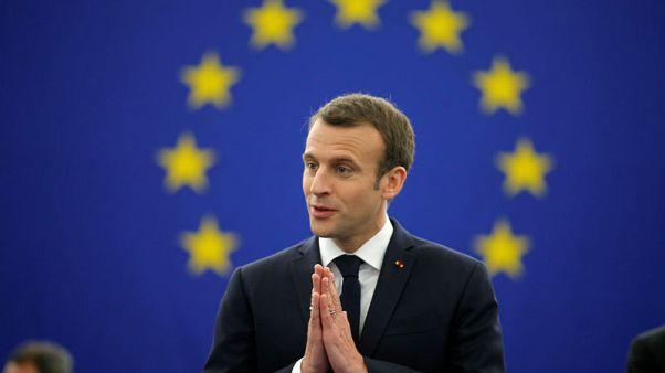 الرئيس الفرنسي: الاتحاد الأوروبي ملاذ من مخاطر العالم