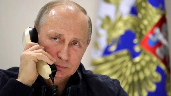 ألمانيا: ميركل وبوتين يتفقان على التركيز على حل سياسي في سوريا