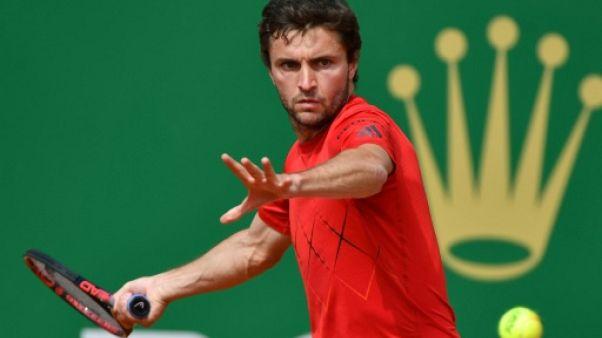 Tennis: Simon écarte Mannarino à Monte-Carlo