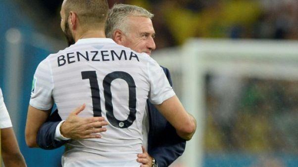 Mondial-2018: Benzema ne tentera plus rien avec Deschamps pour le convaincre