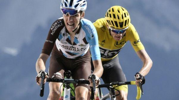 """Cyclisme: Bardet à la Flèche Wallonne pour Vuillermoz et la """"Doyenne"""""""