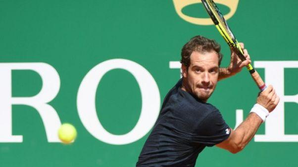 Tennis: Gasquet vient à bout de Chardy à Monte-Carlo