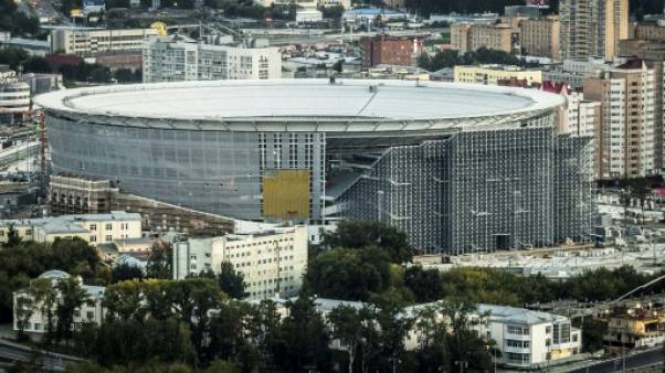Mondial-2018: Test réussi pour le stade russe avec des tribunes en extérieur