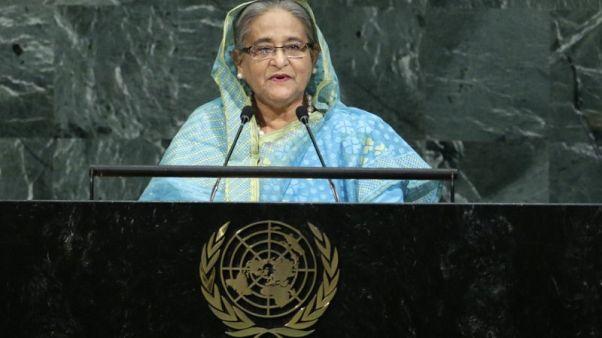 رئيسة وزراء بنجلادش تدعو لضغوط أكبر على ميانمار بشأن الروهينجا