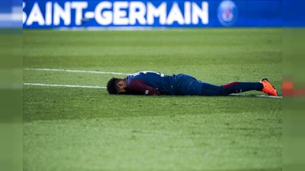 Neymar: pas de retour sur le terrain avant le 17 mai