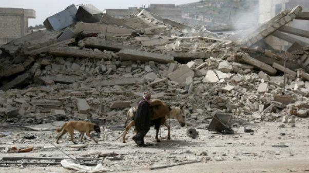 """Le Pentagone met en garde contre une """"résurgence"""" de l'EI en Syrie"""