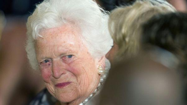 Barbara Bush, pilier d'une des familles les plus puissantes d'Amérique