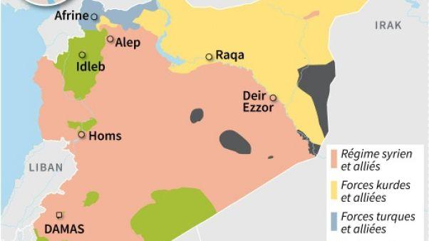 Syrie: le régime accentue la pression sur le dernier réduit de l'EI à Damas