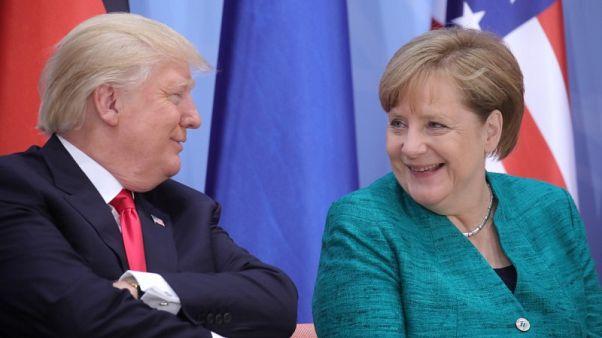 بيان: ترامب يستضيف المستشارة الألمانية ميركل في البيت الأبيض في 27 أبريل