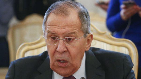 لافروف يجري محادثات مع مبعوث الأمم المتحدة في سوريا الجمعة