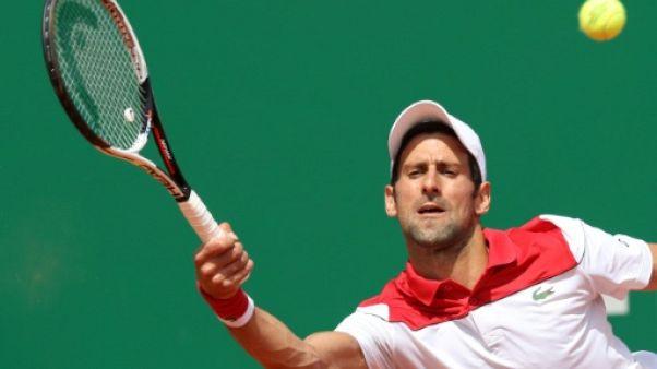 ATP: Djokovic, plus solide que Coric à Monte-Carlo, rejoint Thiem en 8es
