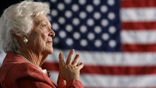 جنازة باربرا بوش يوم السبت بكنيسة في هيوستون