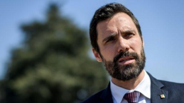 Le président du parlement de Catalogne soutient une candidature de Puigdemont