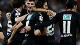 Coupe de France: Paris, à la poursuite du record, bat Caen