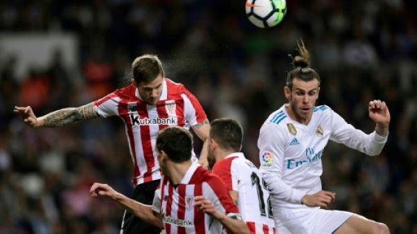 Espagne: le Real fait nul face à Bilbao avant sa demi-finale européenne