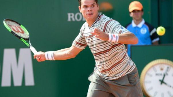 Tennis: Raonic forfait, Cilic en quarts à Monte-Carlo