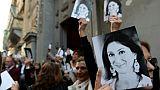 Malte: le travail de Daphne Caruana Galiazia repris par 45 de ses collègues