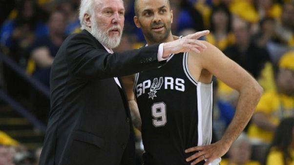 NBA: San Antonio sans Gregg Popovich contre Golden State jeudi