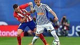 Espagne: L'Atlético Madrid rate le coche, Malaga en D2