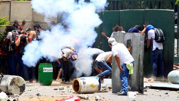 احتجاجات في نيكاراجوا على تعديل نظام الضمان الاجتماعي