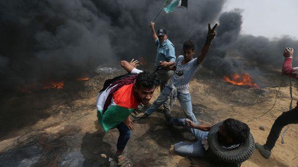 القوات الإسرائيلية تقتل أربعة فلسطينيين في احتجاجات على حدود غزة