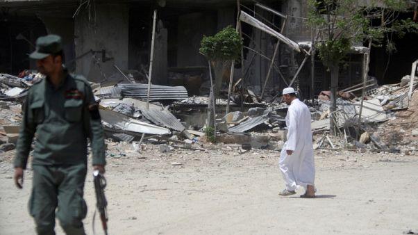 منظمة حظر الأسلحة الكيميائية تقول إن مفتشيها جمعوا عينات من دوما السورية