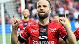 Ligue 1: Monaco chute à Guingamp 3-1 et voit Lyon et Marseille revenir à un point de la 2e place