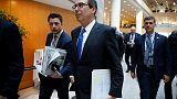 U.S. Treasury chief may visit China as trade tensions simmer