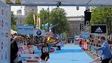 Athletics - Bounasser wins Vienna marathon as Kimetto drops out