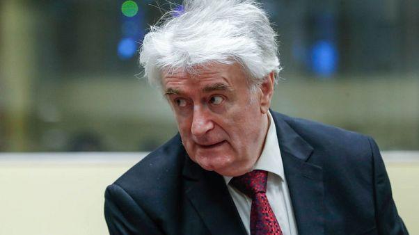 كارادزيتش زعيم صرب البوسنة السابق يستأنف حكم إدانة في جرائم حرب
