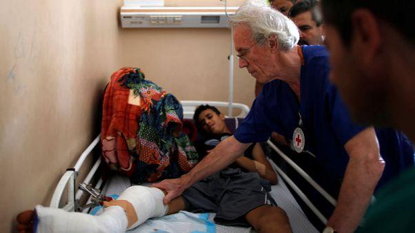 في أكبر مستشفى بقطاع غزة.. جرحى الاحتجاجات يواصلون التدفق