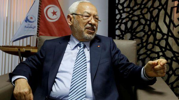 مقابلة-الغنوشي : لا سبيل لتجاوز الأزمة الاقتصادية في تونس بغير الحوار