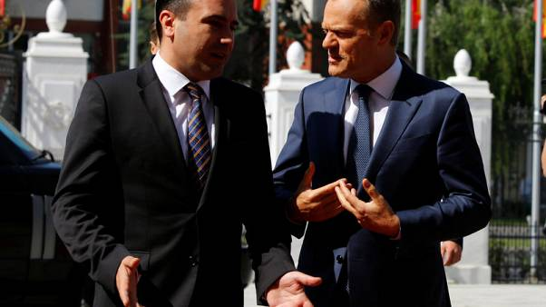مقدونيا تتوقع تحديد موعد محادثات انضمامها للاتحاد الأوروبي قريبا