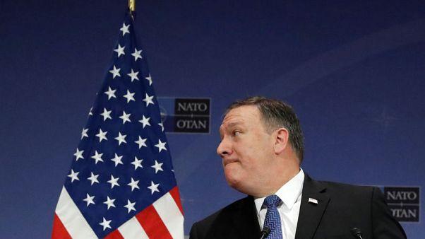 """بعد ساعات من تعيينه.. بومبيو يبحث في بروكسل الرد على """"العدوان الروسي"""""""