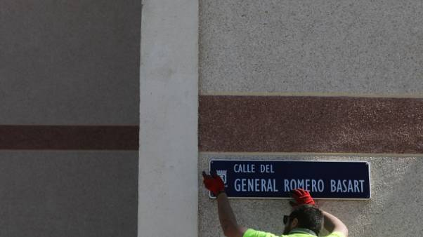 مدريد تزيل أسماء الشوارع المرتبطة بعهد فرانكو