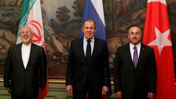 لافروف: على روسيا وتركيا وإيران مساعدة سوريا في القضاء على الإرهابيين