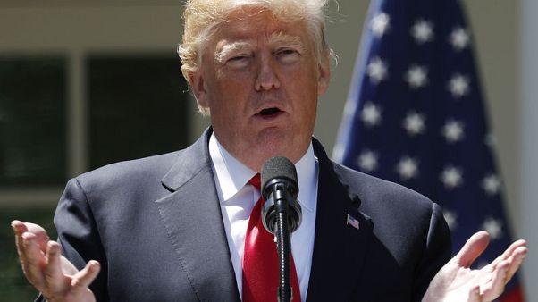 ترامب: الانسحاب من الاتفاق النووي الإيراني لن يضر بمحادثات كوريا الشمالية